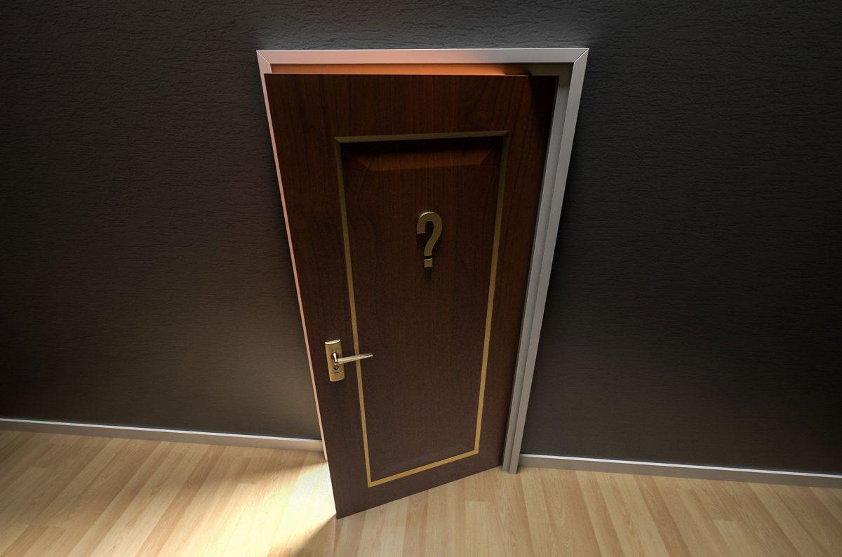 When One Door Closes Another Door Open.